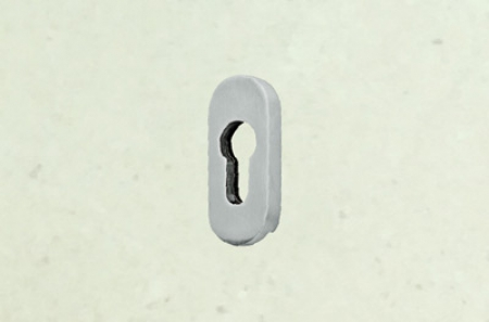Cylinder hole escutcheon