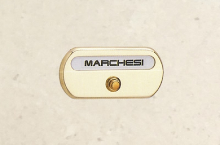 Name plate with bell button 4948